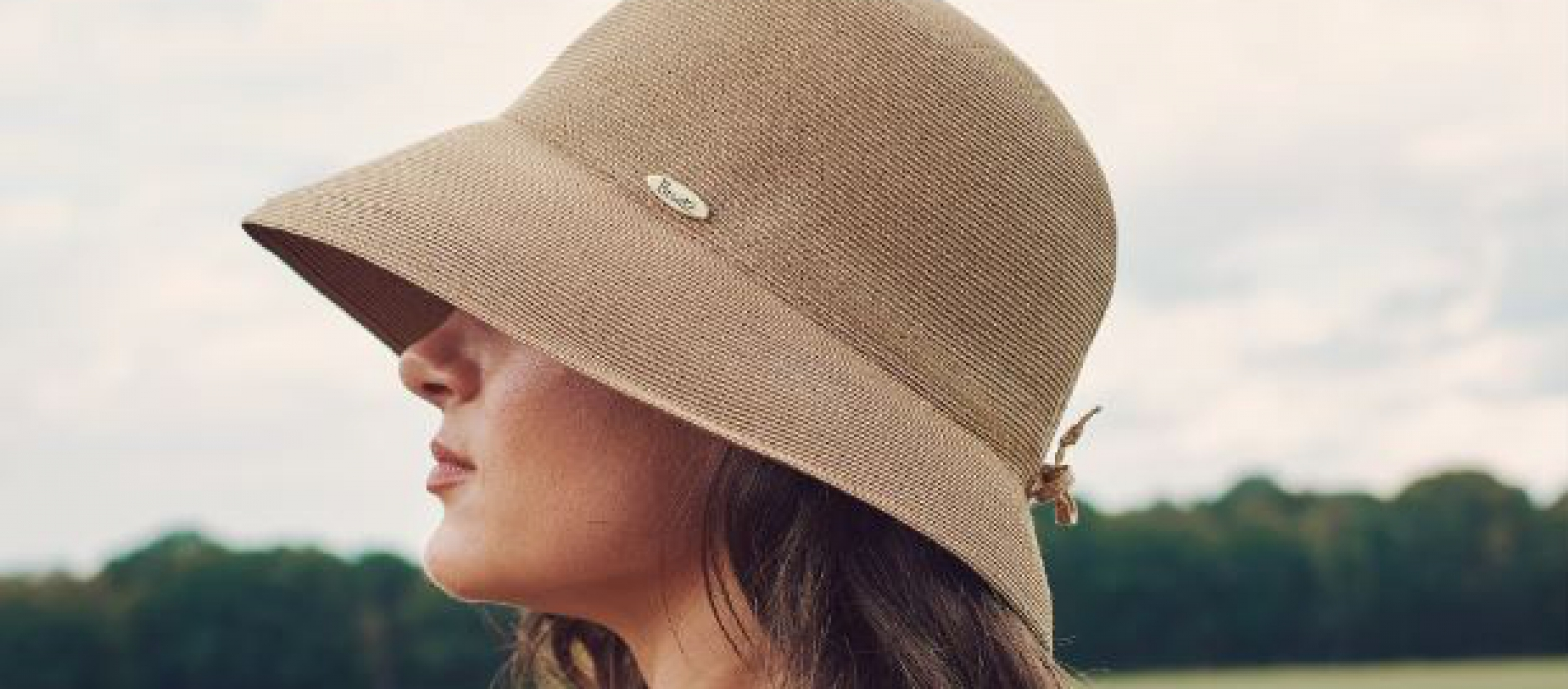 Bronte's Zoey summer cloche hat is available again: rollable, UV50 protection & OSFA