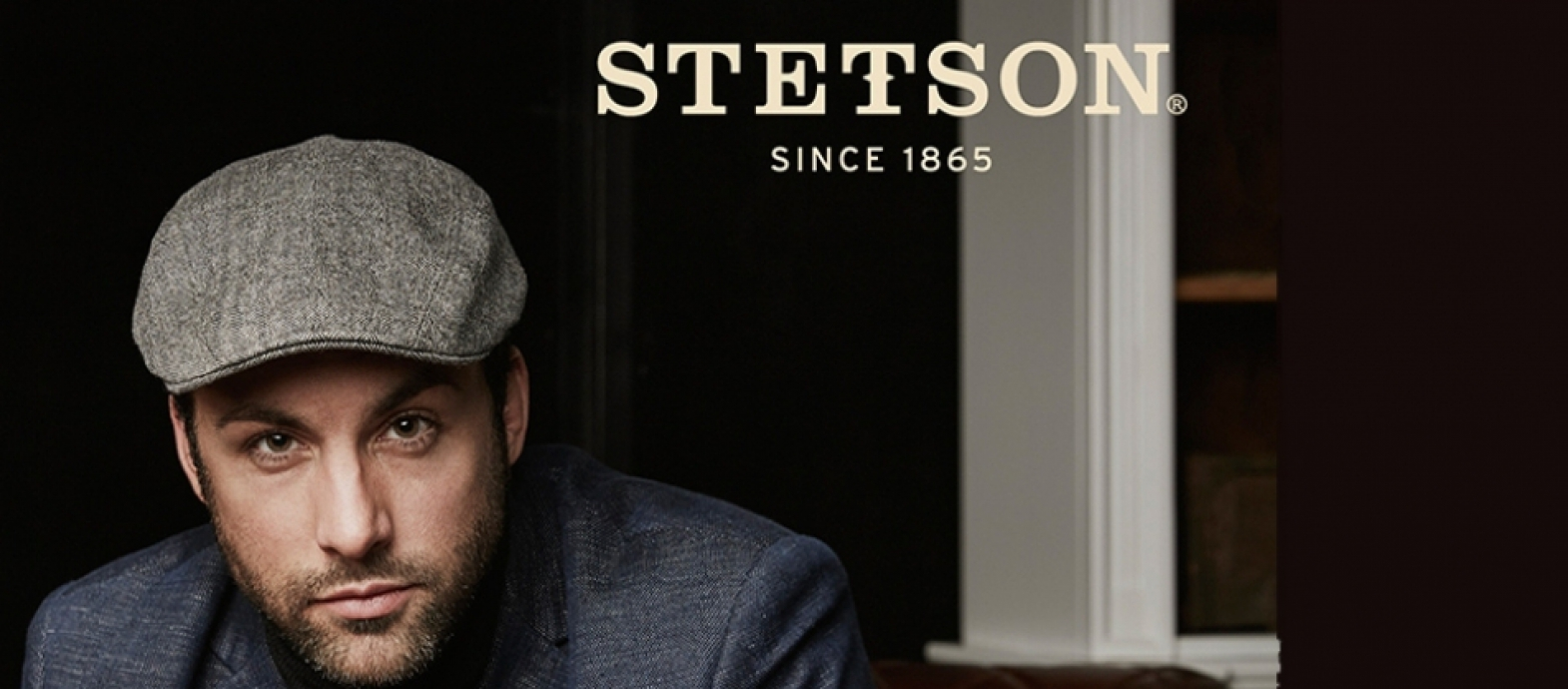 A wide choice of Stetson hats and caps at MV hat-stores