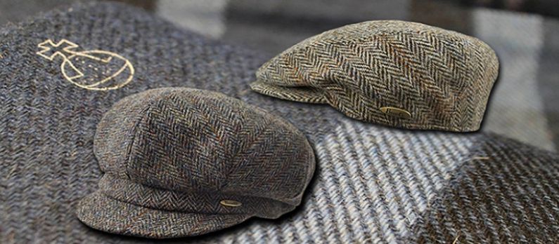 Harris Tweed Kappen von Bronté